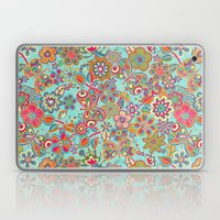 My Flowers And Butterfli… Laptop & iPad Skin
