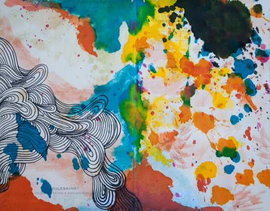 Moleskine #1 Canvas Print