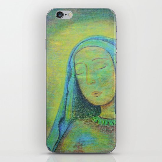 Mary iPhone & iPod Skin