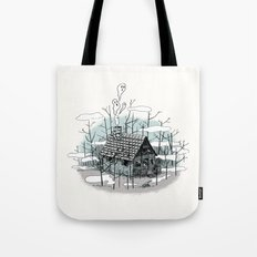 DEEP IN THE HEART OF THE FOREST Tote Bag