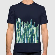Cactus V2 #society6 #dec… Mens Fitted Tee Navy SMALL