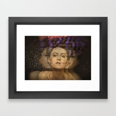 Illusion Framed Art Print