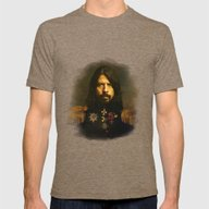 Dave Grohl - Replaceface Mens Fitted Tee Tri-Coffee MEDIUM