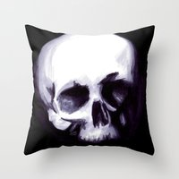 Bones I Throw Pillow