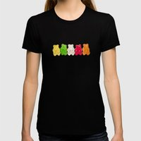 The Lineup Womens Fitted Tee Black SMALL