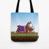 Joust It (Horsey) Tote Bag