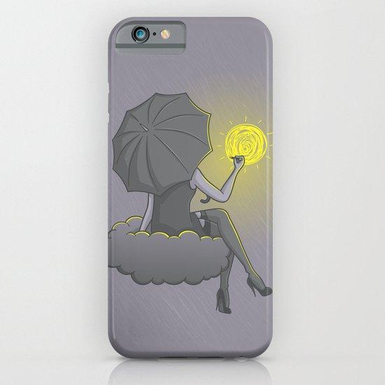 Drawin' in the rain iPhone & iPod Case