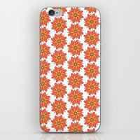 Spring Floral Pattern iPhone & iPod Skin