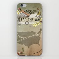 lead the way iPhone & iPod Skin