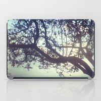 Sunset trees iPad Case