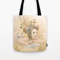 Tote Bag featuring Inner World by Ruta13
