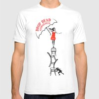 Drop Dead Gorgeous - Fal… Mens Fitted Tee White SMALL