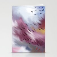 Tears And Clouds Stationery Cards