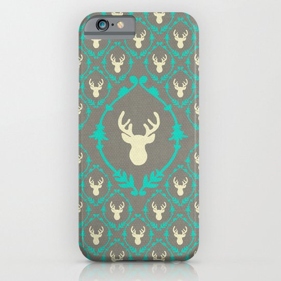 Oh Deer (white) iPhone & iPod Case