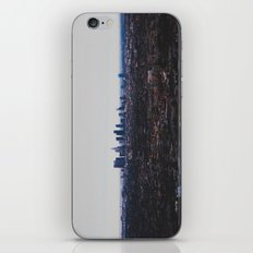 Los Angeles in fog iPhone & iPod Skin