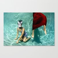 The Handler Canvas Print