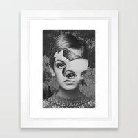 Cosmétique Framed Art Print