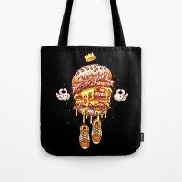 King Burger Tote Bag