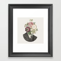 True Affection Framed Art Print