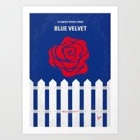 No170 My BLUE VELVET Min… Art Print