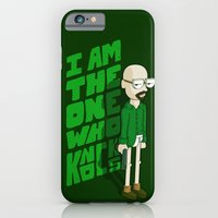 iPhone & iPod Case featuring I am the One who Knocks by maykel nunes