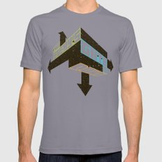 Game On Mens Fitted Tee Slate SMALL