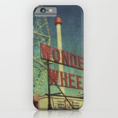 Wonder Wheel at Coney Island luna park, New York,  scaned sx-70 Polaroid Slim Case iPhone 6s