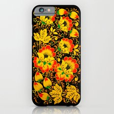 Flower Design Slim Case iPhone 6s