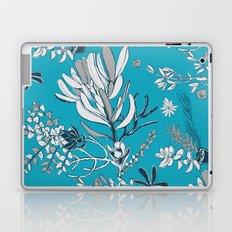 Cool Blue Cradle Flora Laptop & iPad Skin