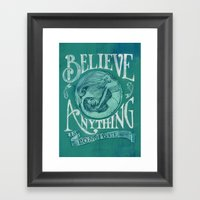 Believe Framed Art Print