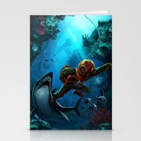 Deep Loot Stationery Cards