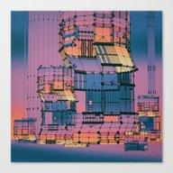 MECHANICAL TURK4 (everyd… Canvas Print