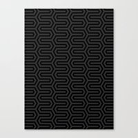 Back & Forth Canvas Print