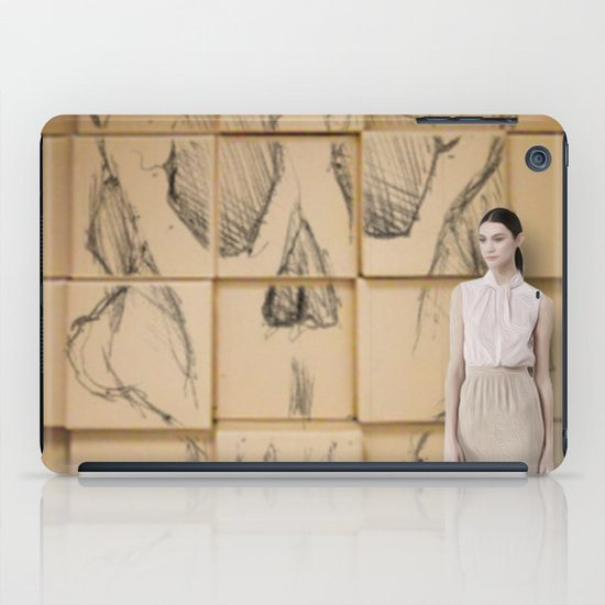 Space in Boxes with a model iPad Case