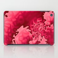 Bubble Gum Curlicue iPad Case