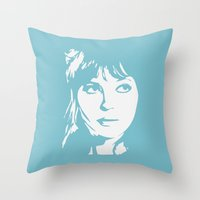 A. Karina Throw Pillow