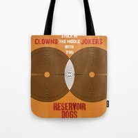 Reservoir Dogs - Venn Diagram : Stuck in the Middle with you Tote Bag
