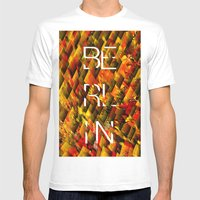 CAMO BERLIN Mens Fitted Tee White SMALL