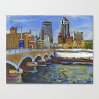 Des Moines, Iowa Canvas Print