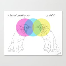 I Learned Something New Canvas Print