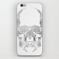 Skull BW iPhone & iPod Skin