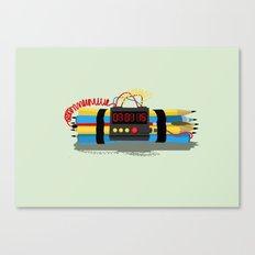 Even ideas bomb Canvas Print