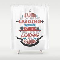It's Leading Shower Curtain