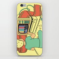 what you give is what you get iPhone & iPod Skin
