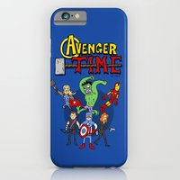 iPhone & iPod Case featuring Avenger Time by MattHercock
