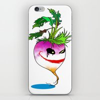 Turnip villain iPhone & iPod Skin