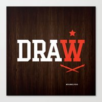 DRAW Canvas Print