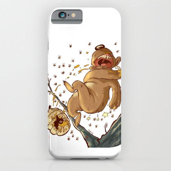 Carl Bear vs. the Bees iPhone & iPod Case