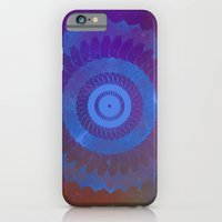 Technicolor Cosmos Blue iPhone 6 Slim Case
