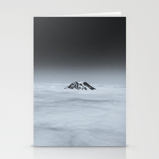 Higher than the Clouds (with an iPhone) Stationery Card